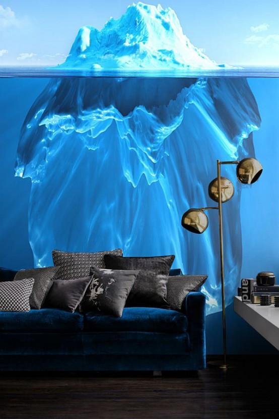 Idéer för inredning och hemdesign: 40 fantastiska väggmålningar.
