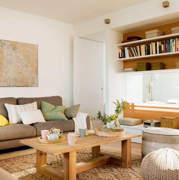 Rymlig och funktionell modern lägenhet i neutrala toner - DigsDi