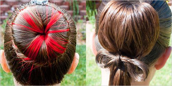Bästa, söta, enkla och unika frisyrer för små flickor och barn.