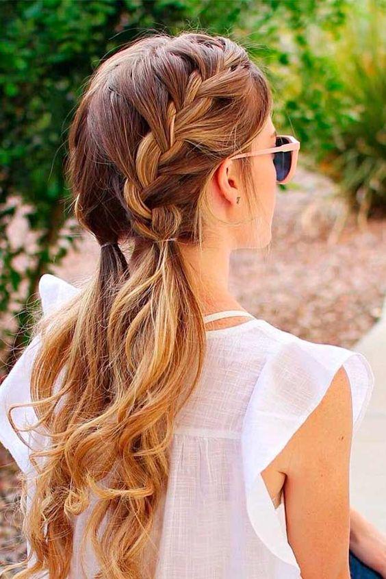 Söta frisyrer för första dejten ★ Mer information: http://glaminati.com/cute-hairstyles-first-date/