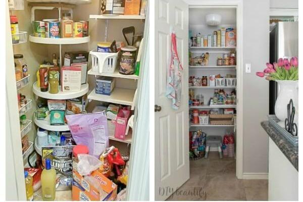 Hur man skapar en funktionell och organiserad skafferi  DIY försköna.