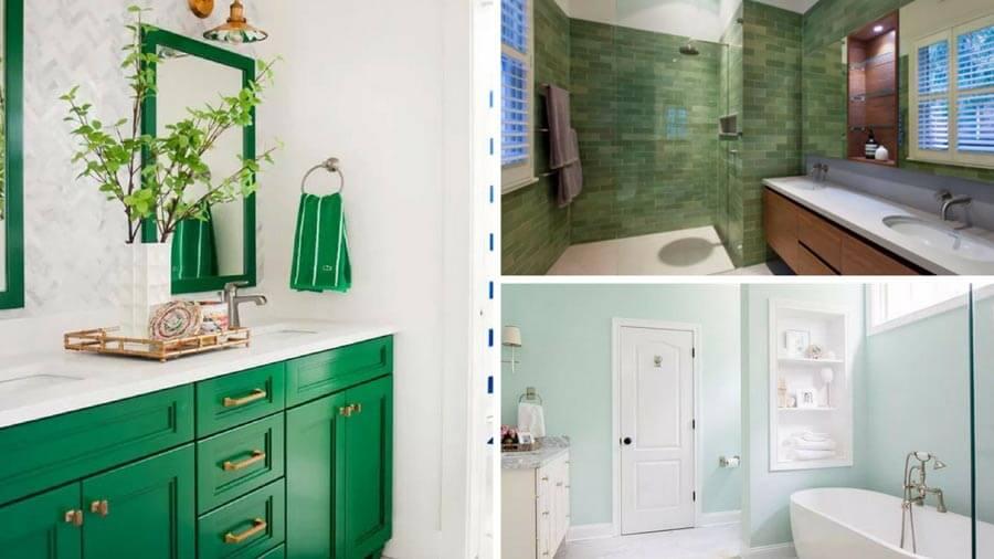 12 underbara gröna badrumsinredningsidéer    Hem Wrappi