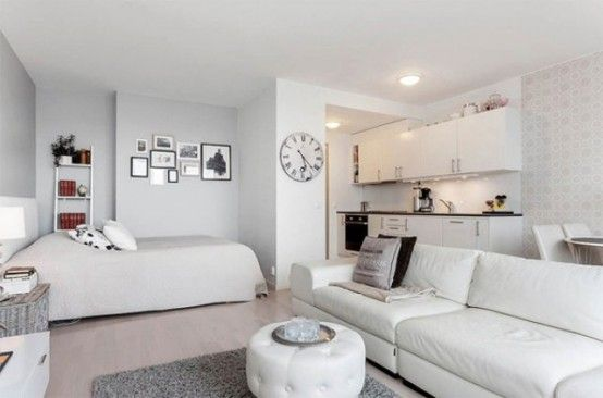 8 coola tips för att visuellt utöka ett litet utrymme    Liten lägenhet.