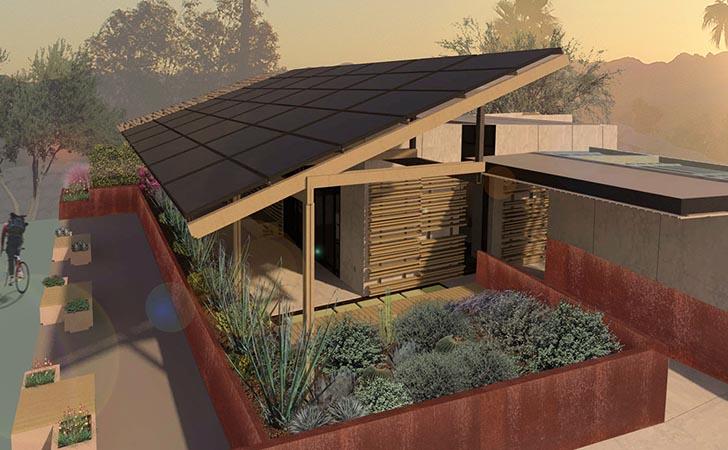 ASU: s SHADE House är ett prisvärt miljöhem för förortsboende i.