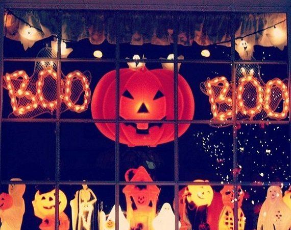 60 sällsynta halloweenfönster som du inte kan motstå mot t