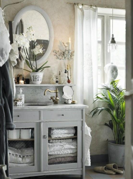 22 Absolut charmiga Provence Idéer för badrumsinredning - DigsDi