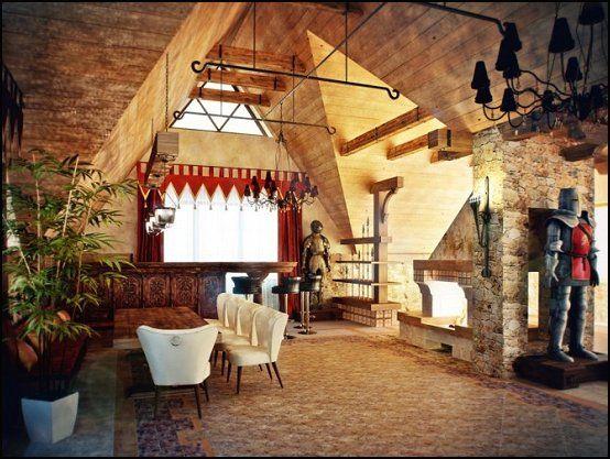 Dekorera sovrum - Maries Manor: Medieval-Knights.