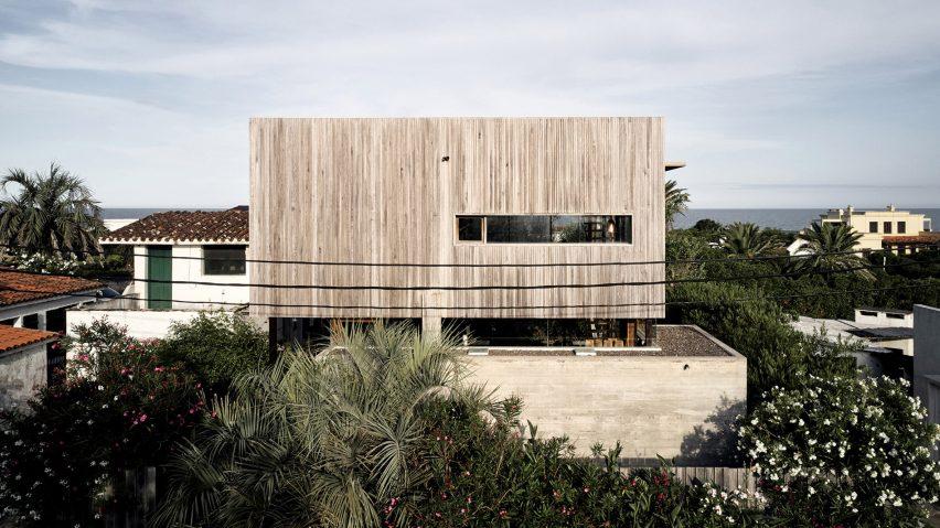 Alejandro Sticottis Uruguay-hemmalag vittrade trä och konkret