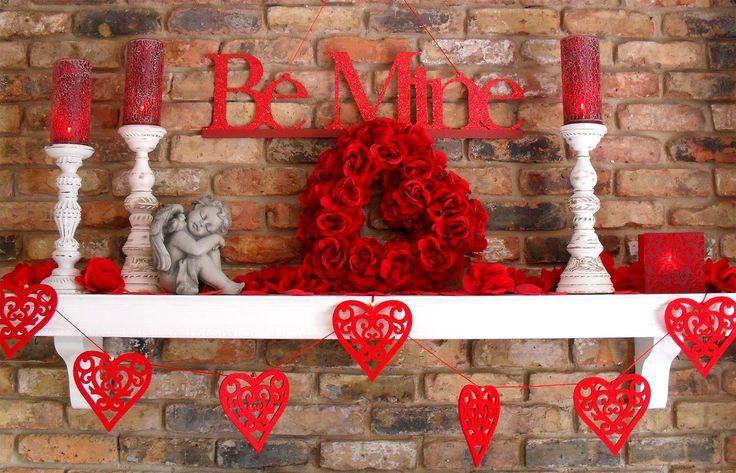 Inrednings- och hemdesignidéer: 40 Hot Red Valentine.