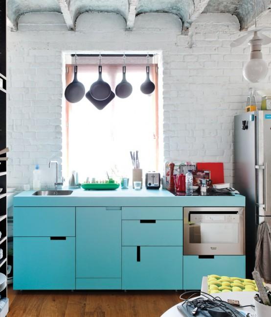 Hur man använder färg och texturer i små utrymmen: 24 idéer - DigsDi