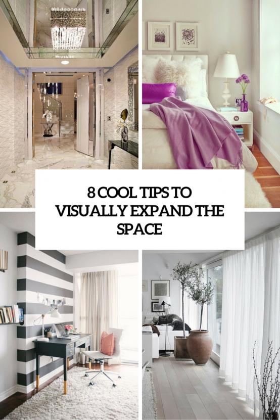 8 coola tips för att visuellt utöka ett litet utrymme - DigsDi