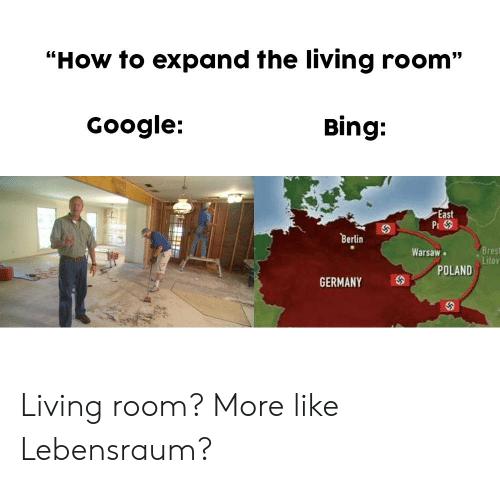 Så här expanderar du vardagsrummet Google Bing East P Berlin Bres Litoy.
