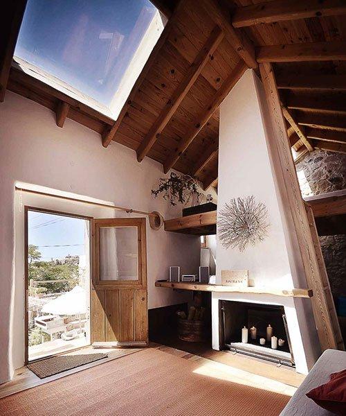 pedro quintela använder lokala material för att blåsa liv i gamla landsbygden.