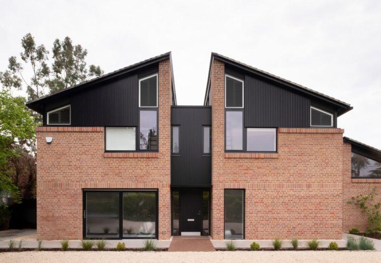 Unikt split hus översvämmat med naturligt ljus - DigsDi