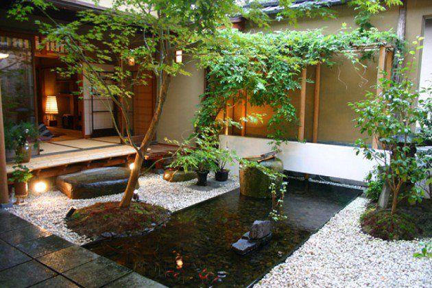 30 Magical Zen Gardens |  Zen trädgård design, japansk trädgård design.