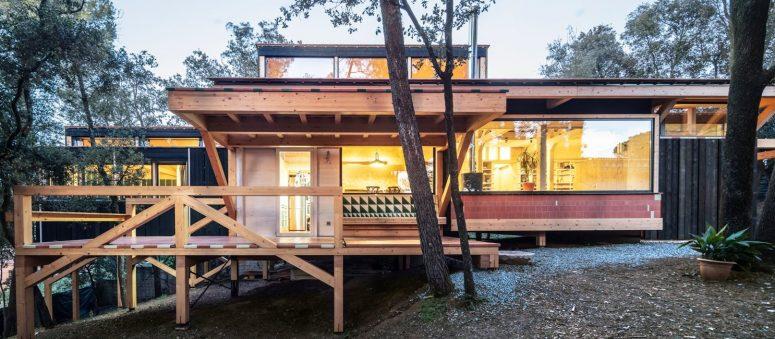 BOSC HOUSE Bevara den befintliga topografin - DigsDi