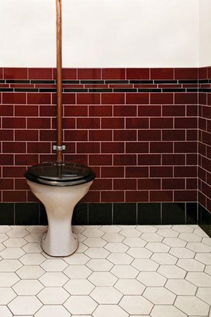 22 idéer att använda Marsala för badrumsinredning |  Badrum inredning.