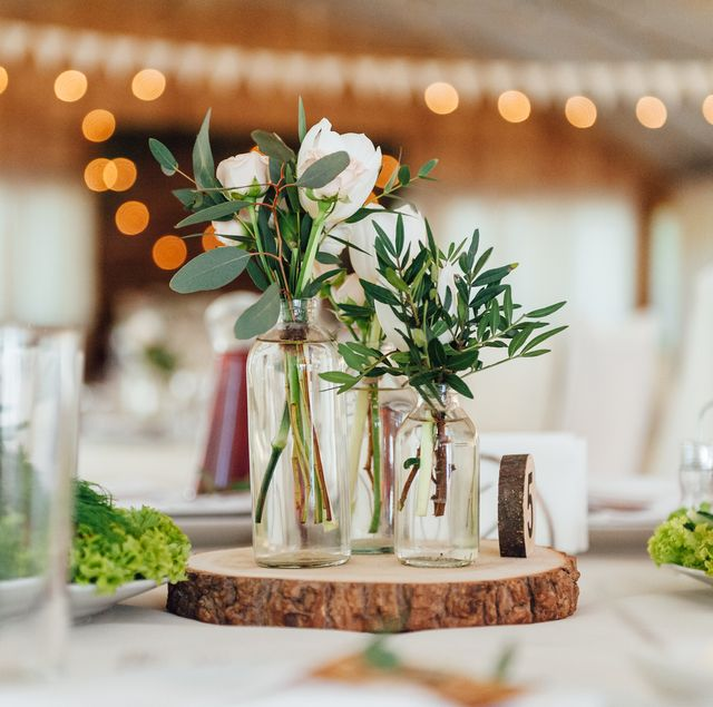 30 bästa DIY bröllopsdekorationer - billig bröllopsdekoration