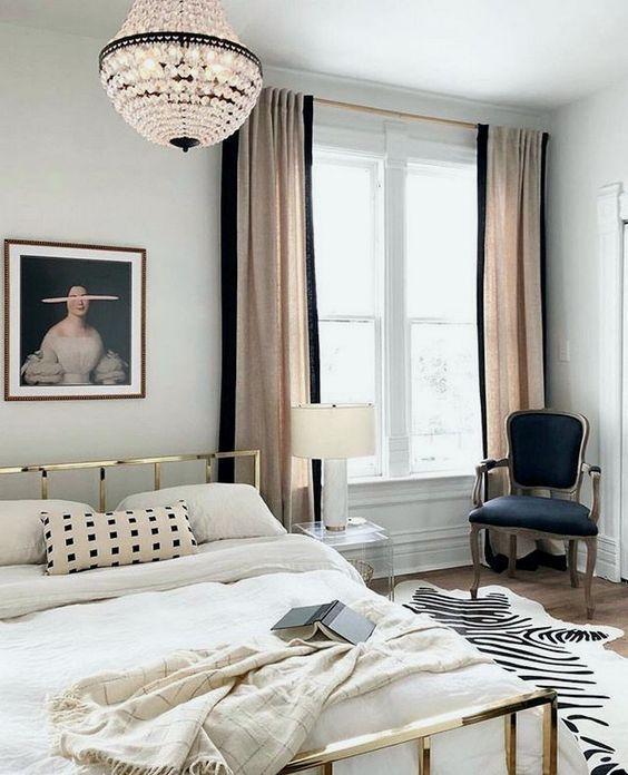 Sovrum i parisisk stil - myfashionos.com 2020    Parisisk.