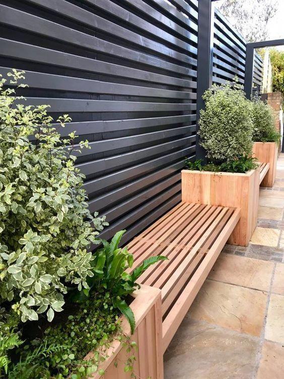 Garden Screening Ideas - Garden Screening Products.  Bambu trädgård.
