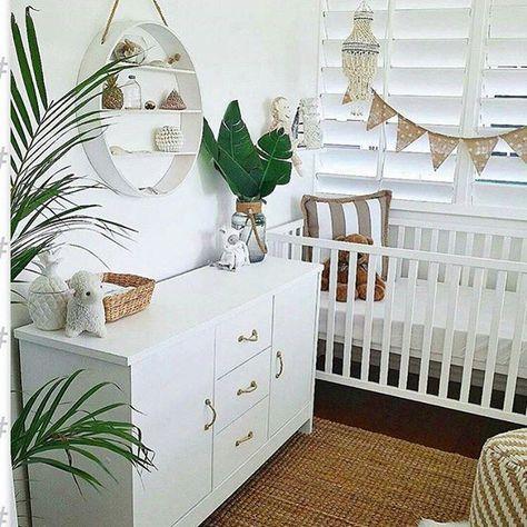 Une #chambre de # bébé bien décorée!  # déco # dekoration # enfant.