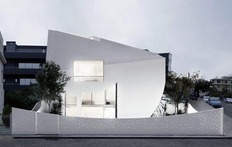 Drömmande och lättfyllda minimalistiska hem i vitt - DigsDi