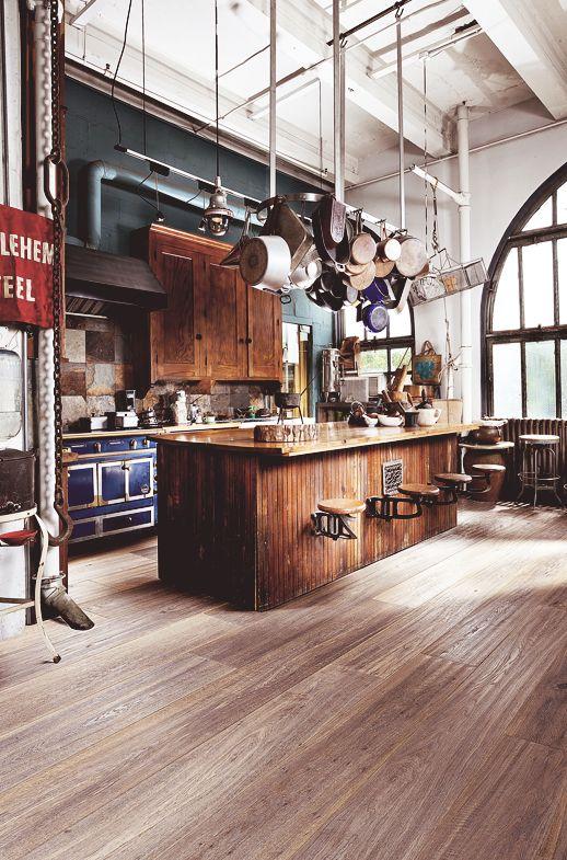 20 Dream Loft Kitchen Design Idéer |  Decohol