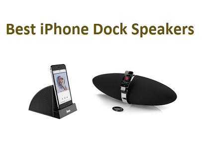 Topp 15 bästa iPhone Dock-högtalare 2020 - Komplett guide.