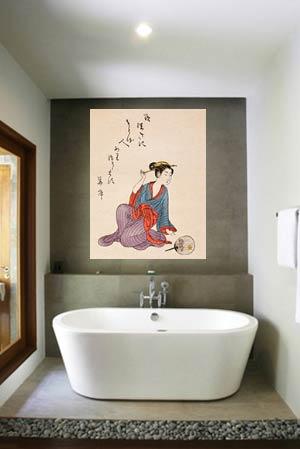 Japansk badrumsinredning