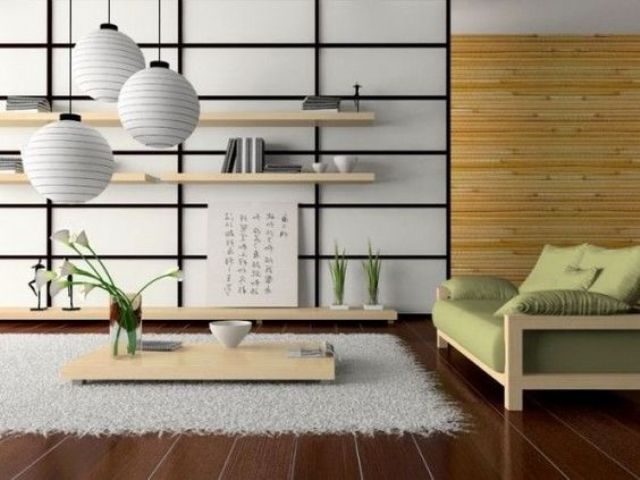 31 Serene Japanese Decorations Idéer för vardagsrum - DigsDi