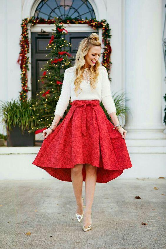 10 Pretty Christmas Eve Church Kläder som ser artig ut |  Kerst.