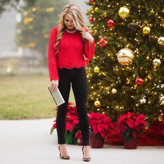 12 Charmig julfest Mode stil Vacker och fantastisk (med.