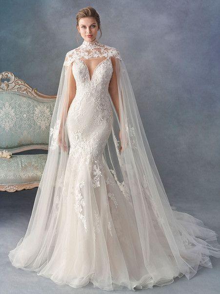 Bröllopsklänning Inspiration - Kenneth Winston - MODwedding |  Kap.