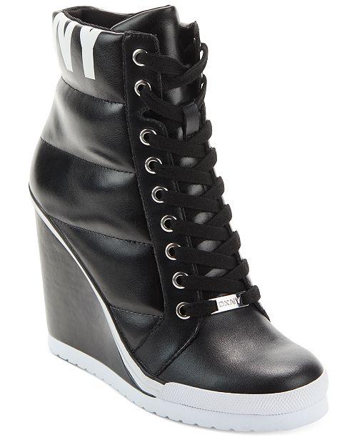 DKNY Noho Wedge Sneakers & Recensioner för kvinnor - Atletiska skor.