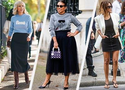 19 enkla idéer för svart kjoldräkt - PureW