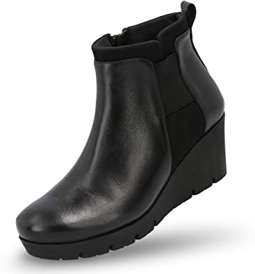 Amazon.com |  MANET Wedge Booties för kvinnor - Wedge för kvinnor.
