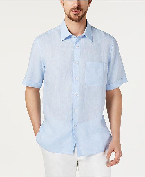 Tasso Elba Cross-Dye-kortärmad linnetröja för män, skapad för.