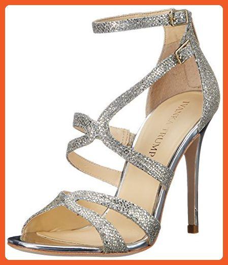 Ivanka Trump Hotis2-klacksandal för kvinnor, guld, 10 M USA - sandaler.