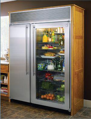 glasdörr kylskåp!  * svunna *    Glasdörr kylskåp, glas.