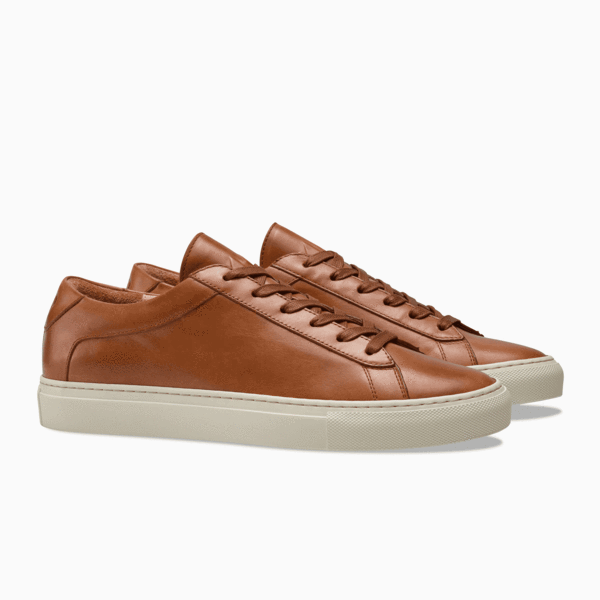 Låga sneakers för kvinnor i brun    Capri Castagna    KO