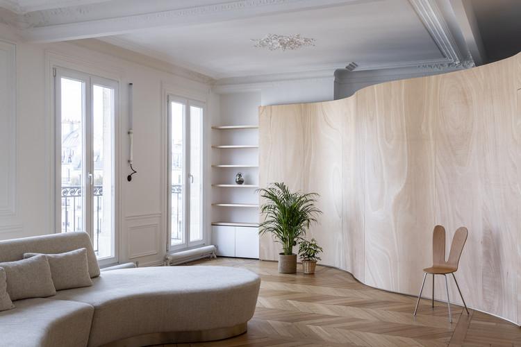 Wood Ribbon Apartment / Toledano + Architects |  ArchDai