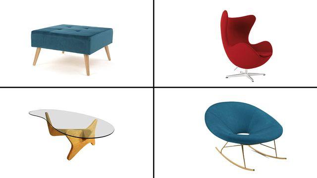 8 moderna möbler från mitten av århundradet kan lägga till en retrostil på din.