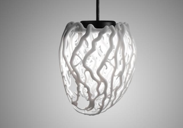 Life: En 3D-hjärtformad taklampa - DigsDi