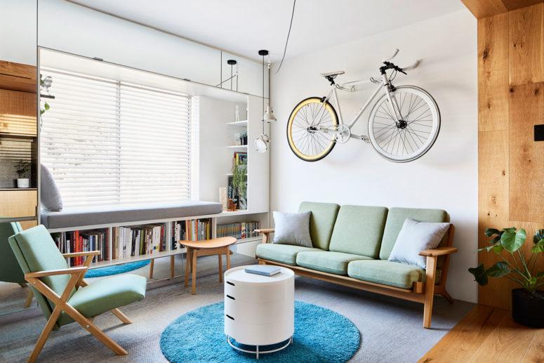 Kompakt lägenhet som firar ett litet fotavtryck - DigsDi
