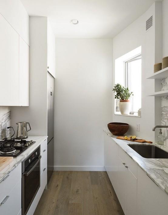 Liten men smart minimalistisk köksdesign - DigsDi