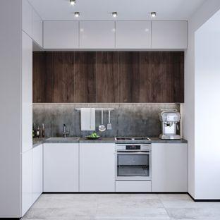 L-formade kök: idéer och bilder för köksplanering |  Liten.