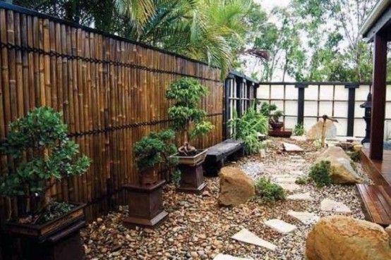 27 lugna japanskinspirerade innergårdsidéer |  Japansk trädgårdsdesign.