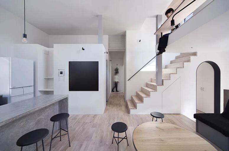 Kreativt minimalistiskt hus i Japan - DigsDi