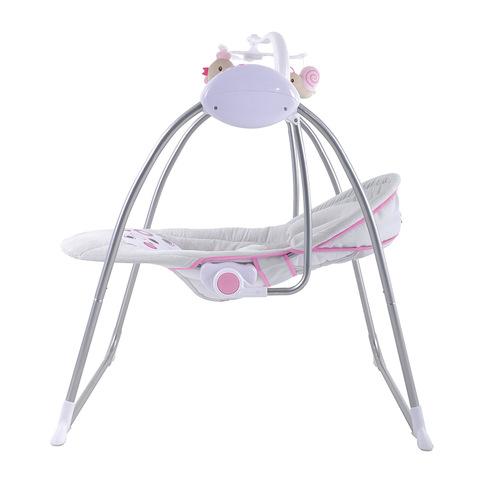 Baby gunga Elektrisk vagga automatisk gunga babysäng säng.