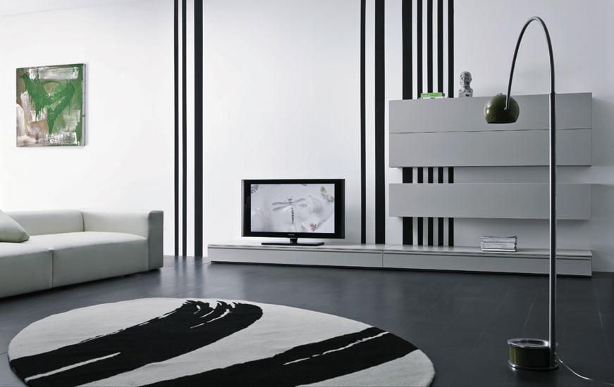 modernt tv-skåp    Enkel heminredning